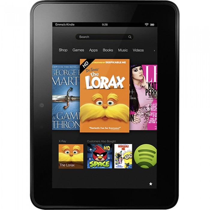 Amazon - Kindle Fire HD - 7 quot Kindle Fire Hd 7 Size
